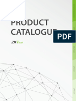 ZKTeco Product Catalogue 2016