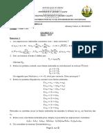 EXAMEN 1 Analyse Tensorielle 2013