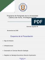 Difusion Postgrado UCN Chile