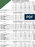 1.- Analisis de Costos Unitarios Red Desague