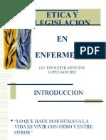 145642419 Etica en Enfermeria