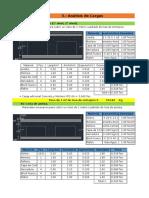 Excel Para Analisis de Cargas y Calculo de Cimentacion