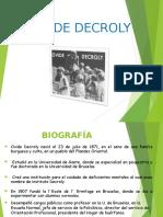 Ovide Decroly 1
