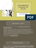 Documentos Legales en Salud