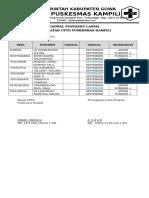 Jadwal Posyandu Lansia September