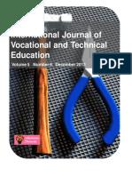 Journal1396513141_IJVTE- December - 2013 Issue