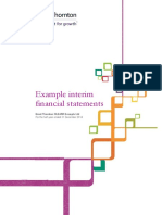 FS-sample-gtal 2014 December Example Interim Financial Statements