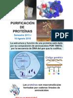 Purificacion Proteinas Parte i