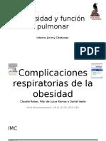 Obesidad y Función Pulmonar