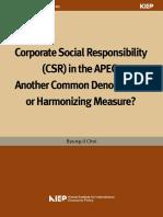 CSR in APEC
