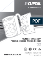 Motion Detection Sensor