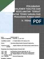 3 Penjabaran Manajemen Fasilitas Dan Keselamatan Terkait Persyaratan Teknis Sarana Dan Prasarana