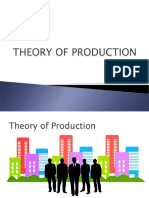 MICROECONOMICS ECONONE :Theory of Production