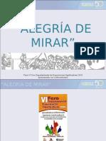 ALEGRÍA DE MIRAR. CUCUTA 28 MAYO 10 (TASK 27 MAYO)