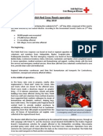 Polish Red Cross Floods Operation Fact Sheet May 2010