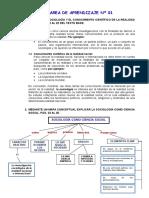 Ed. Para La Sostenibilidad (Sociología)