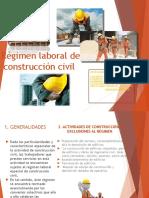 Regimen Laboral de Construccion Civil . Empresas Grupo Sabado