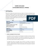Plan Integral de Plagas Informe Final