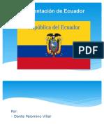 Presentación Ecuador en Ingles