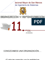 Organizacion Sesion 11,12,13,14,15