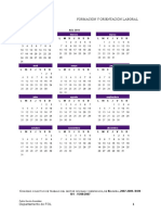 Actividad Calendario Laboral 2011L