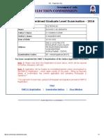SSC - Registration Slip