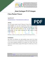 Agus Prasetyo-Cara Membuat Jaringan WAN Dengan Cisco Packet Tracer
