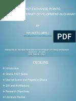Internet Exchange Points_ the Panacea for Internet Devt in Ghana