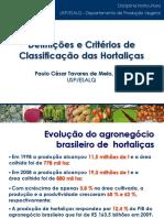 Classificacao Das Hortalicas