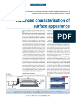 Advanced Characterisation of Surface Appearance