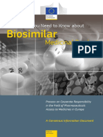 What You Need to Know About Biosimular Medicinal Products.