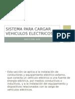 Sistema Para Cargar Vehiculos Electricos