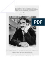 Frases de Julius (Groucho) Marx