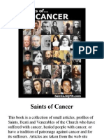 Saints of Cancer
