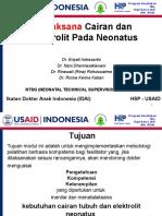 Terapi cairan dan elektrolit pada neonatus