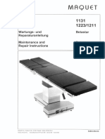 maquet operating table manual ir codes
