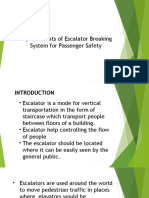 Improvements of Escalator Breaking System for Passenger Safety
