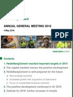 Agm Presentation 2016
