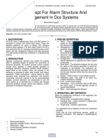 New Concept for Alarm Structure and Management in Dcs Systems