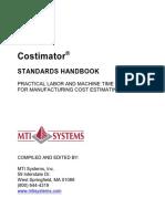 2010-Costimator Standards Handbook.pdf