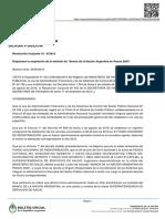 Resolución Conjunta 10 - E2016