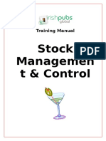 Training Manual Stock Management