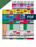 master schedule 2017