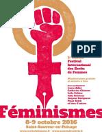 Cinquième édition du Festival International des Ecrits de Femmes