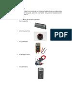 Laboratory ammeter , voltmeter and power meter
