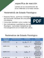 Parámetros Del Estado Fisiológico