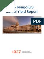 Bengaluru Rental Yield Report