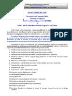 05 - Proceduri de Lucru - Noul Cod Fiscal Si Noul Cod de Procedura Fiscala