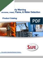 Detector de Humo, Calor, Llama y Agua