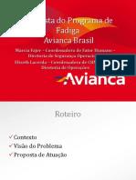 Programa de Fadiga FA-AVIANCA